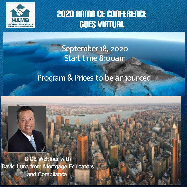 2020 HAMB Conference